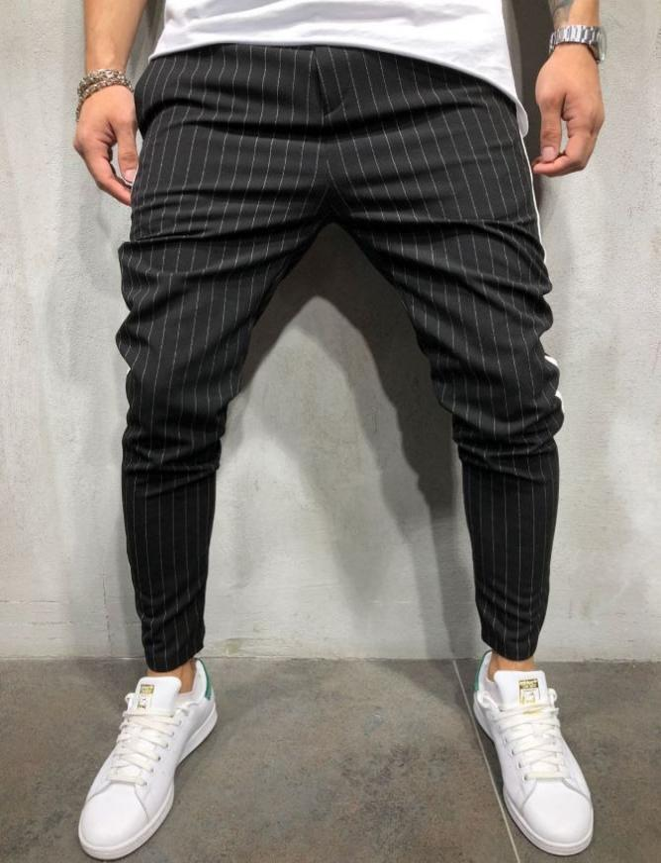 Pantaloni casual Nero