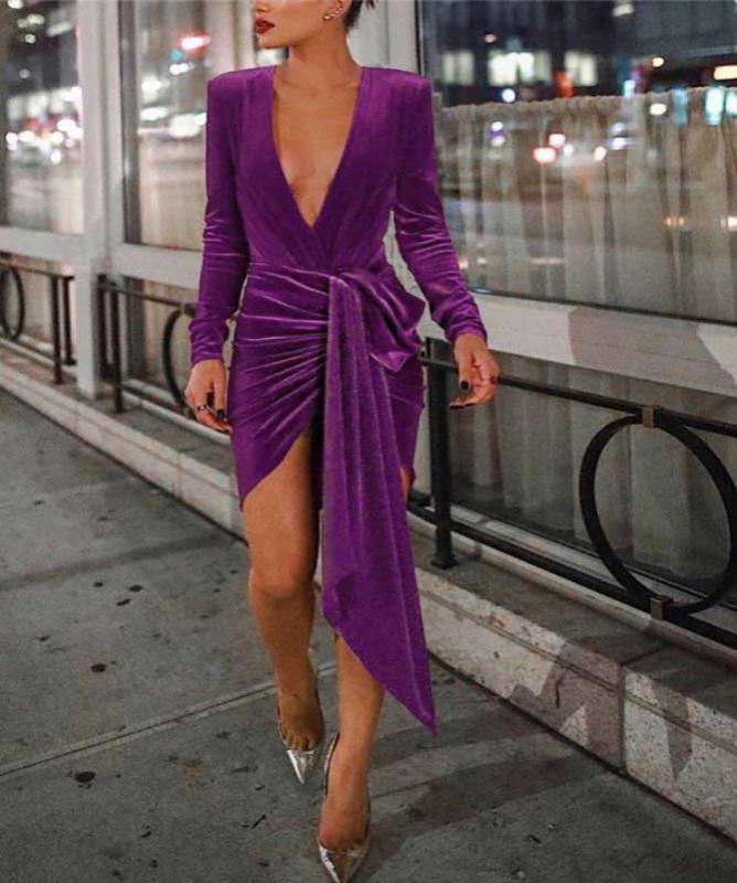 Vestito velluto