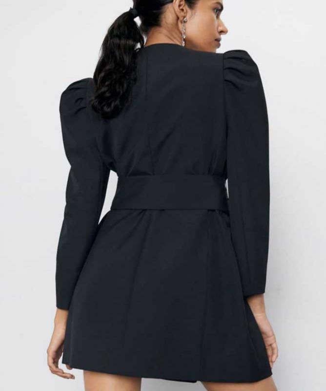 Blazer a vestito nerocolorenero
