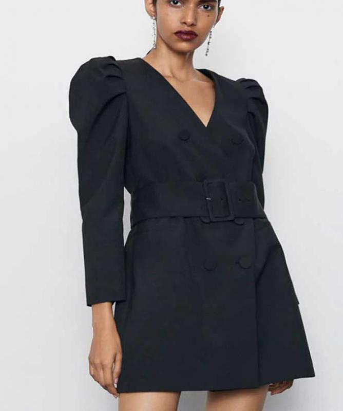 Blazer a vestito nero