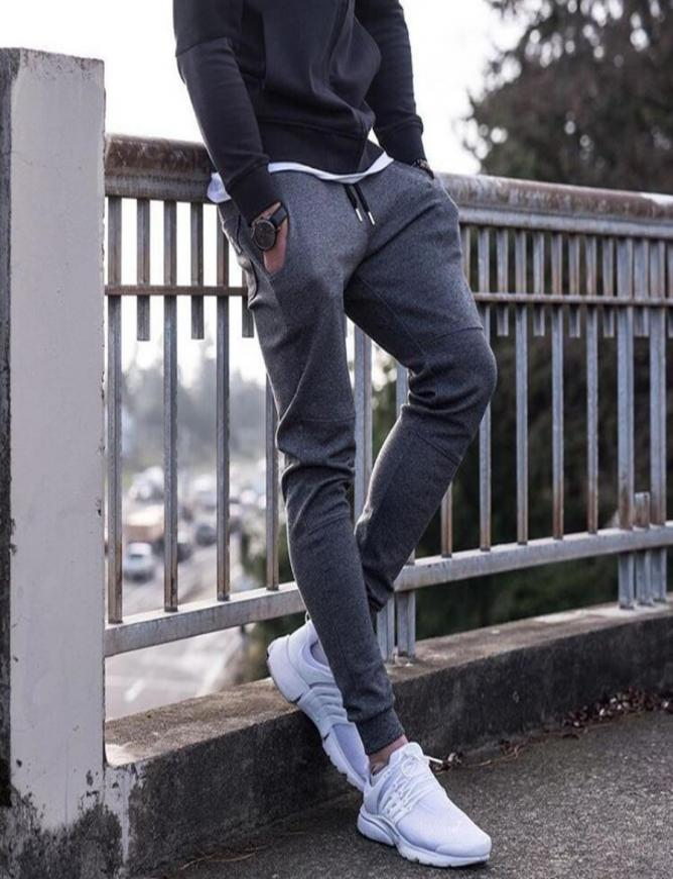 Pantaloni tuta Grigio