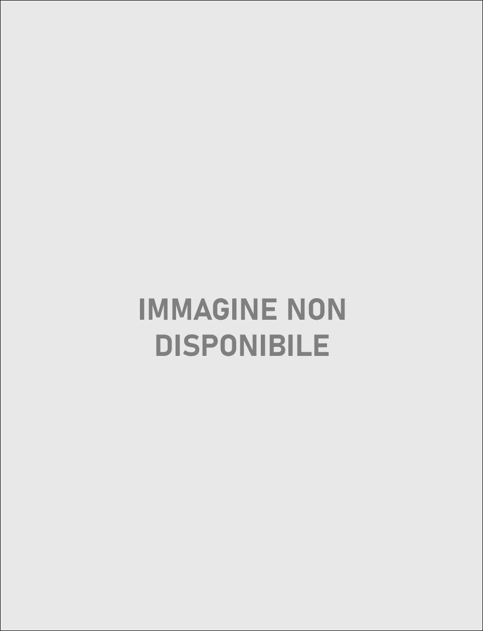 Vestito paillette modello largo argento