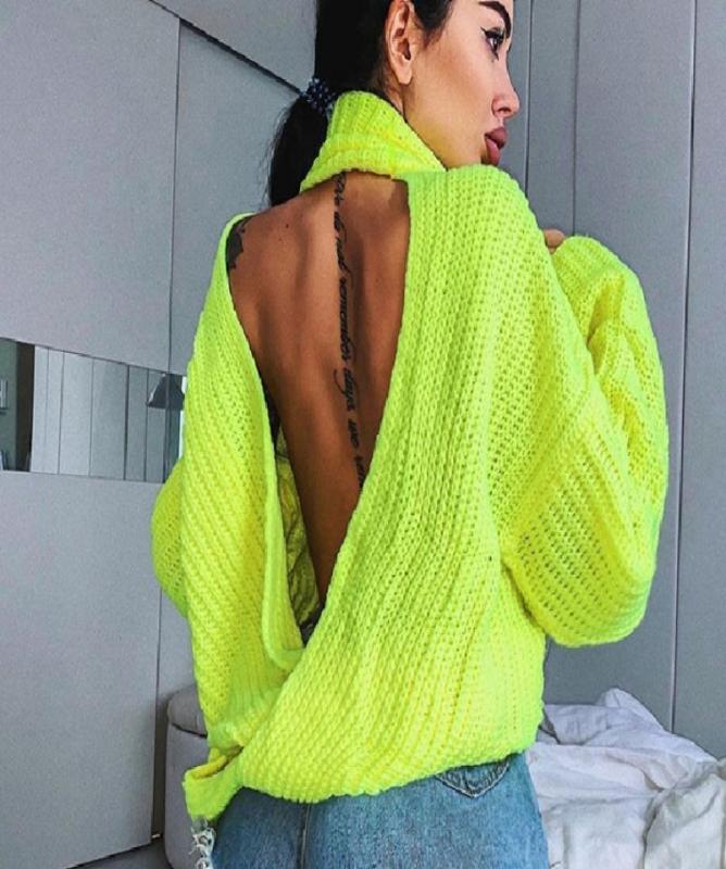 Maglione giallo