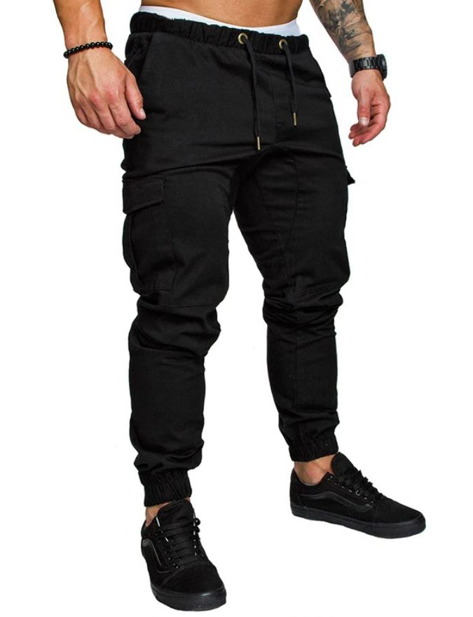 Pantaloni Fitness Nero