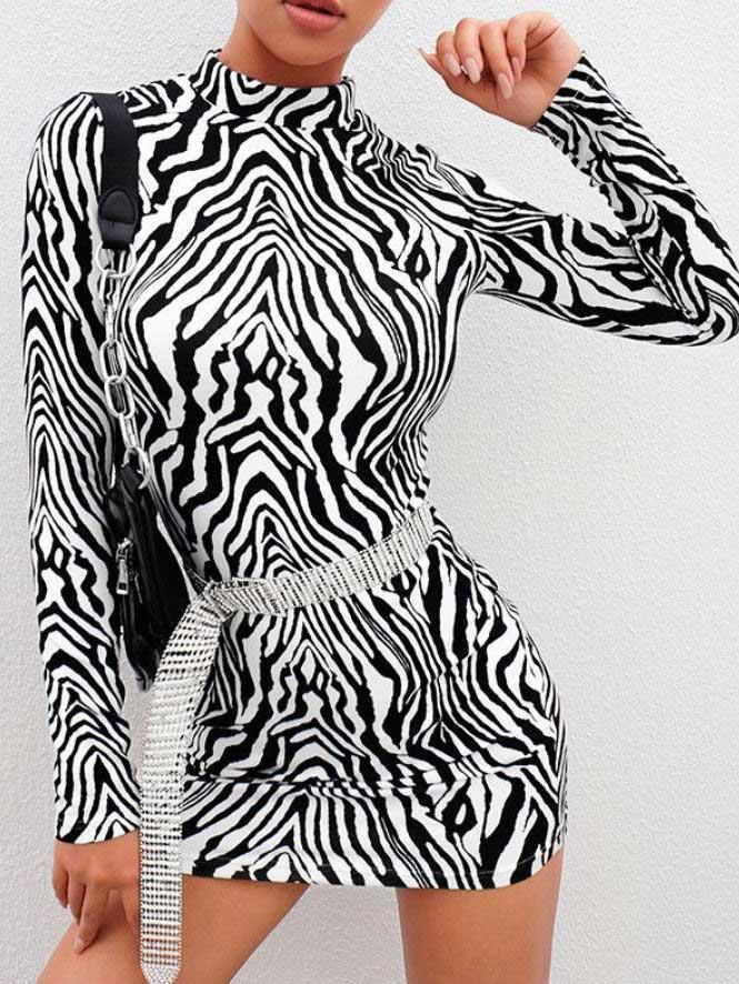 Vestito zebra