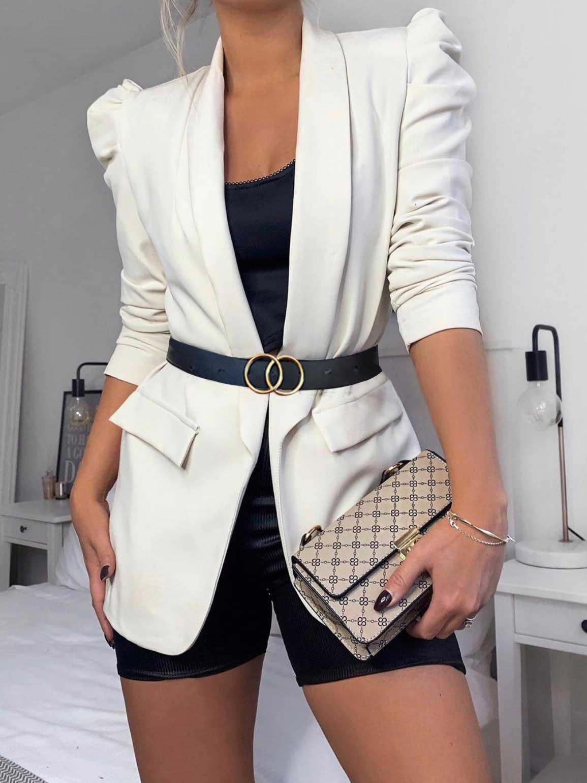 Blazer elegante Bianco