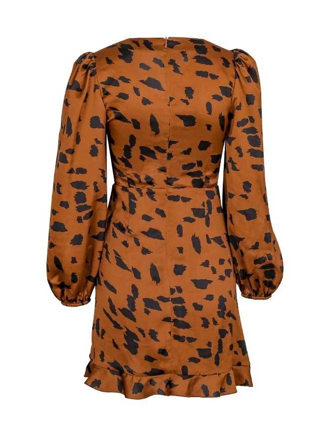vestito marrone leocoloremarrone