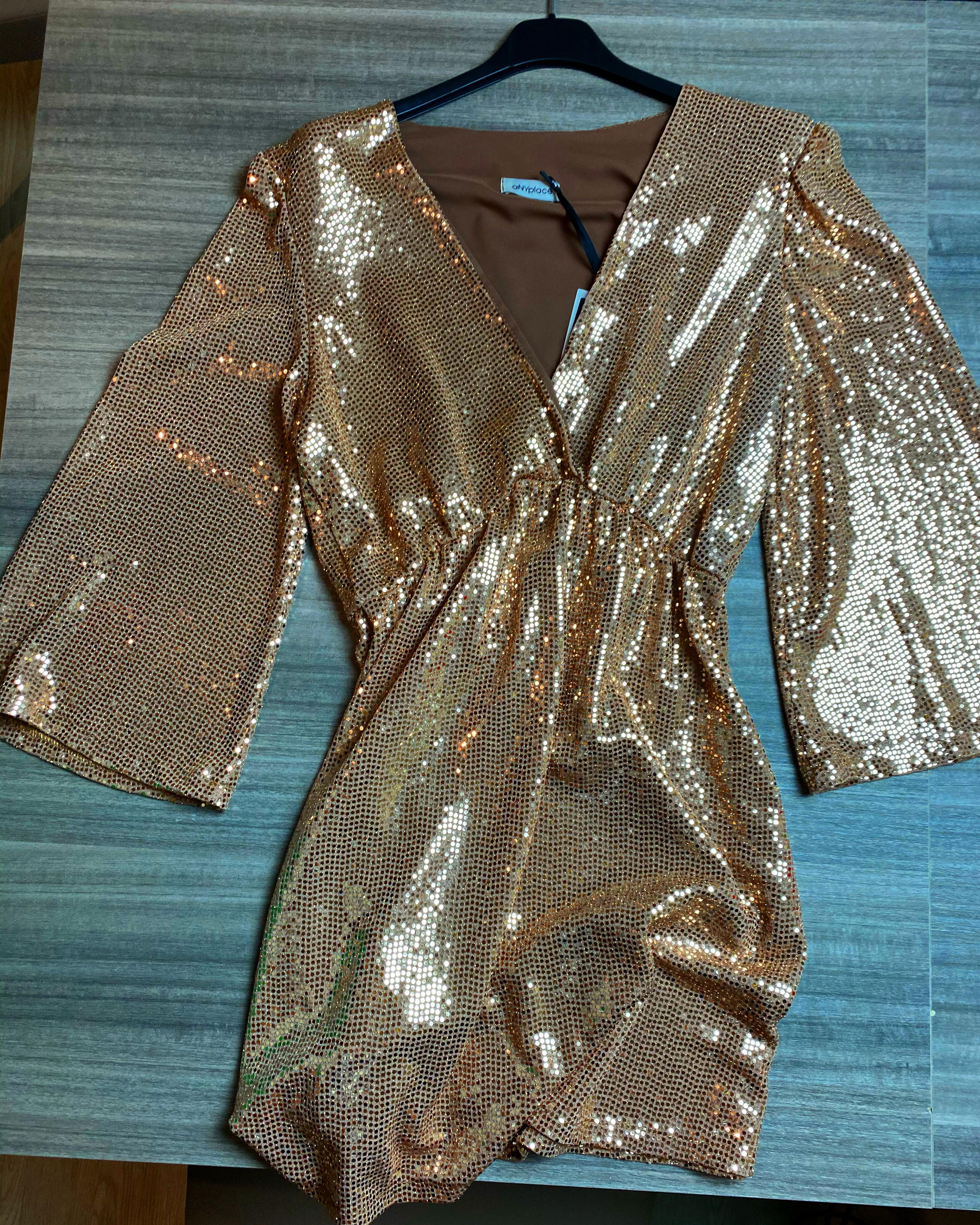 Vestito oro oro