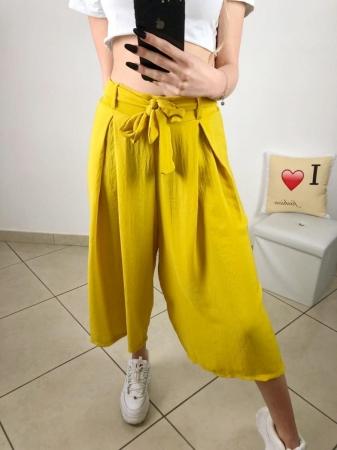 Pantalone giallo giallo