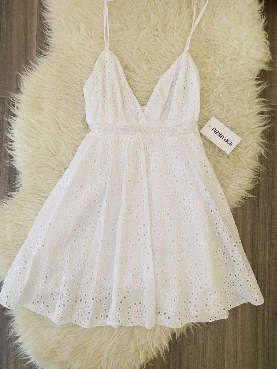 Vestitino bianco estivo