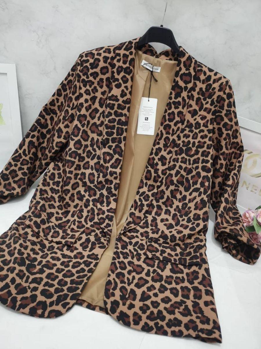 blezer leopardato