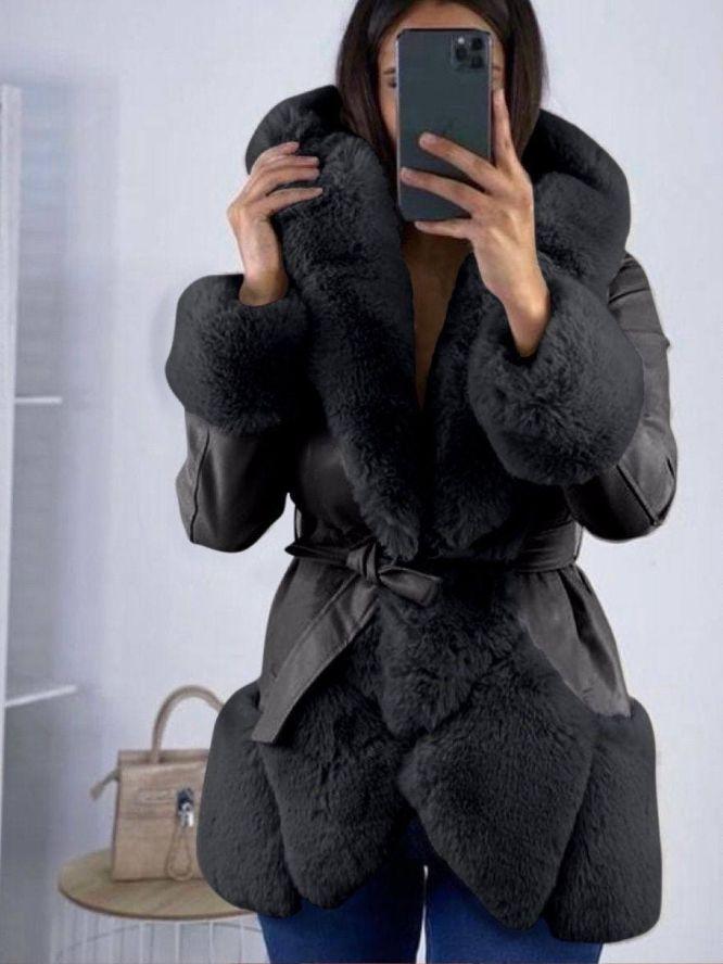 giacca modello lunghezza media