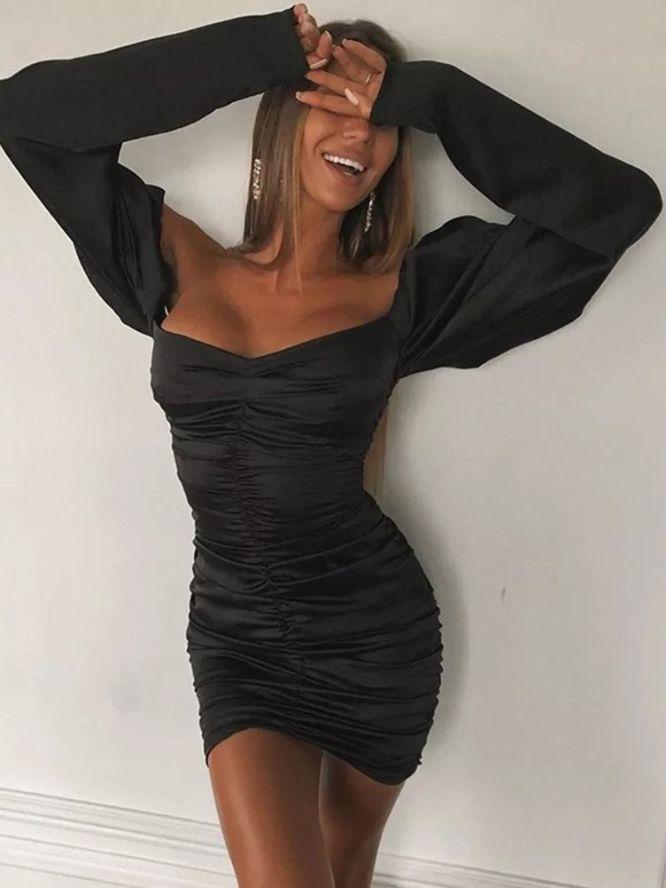 vestito in raso anastasiya