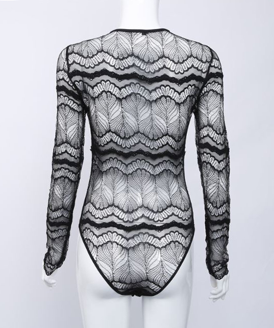 Body nero con laccicoloreNero
